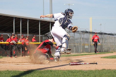 Photo Gallery: Boys Baseball vs. Lansing: April 15